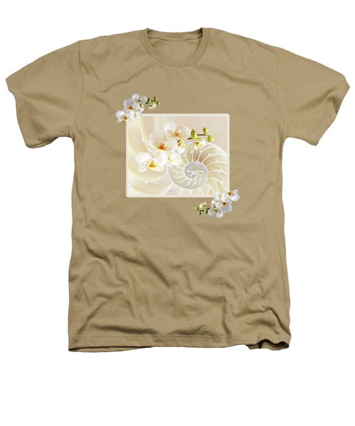 Natural Fusion Heathers T-Shirt by Gill Billington