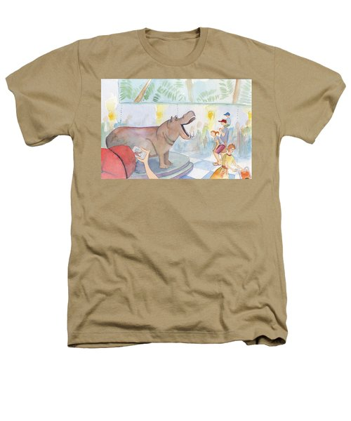 Natural History Hippo Heathers T-Shirt