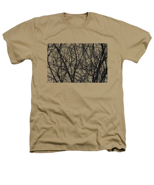 Natural Trees Map Heathers T-Shirt by Konstantin Sevostyanov