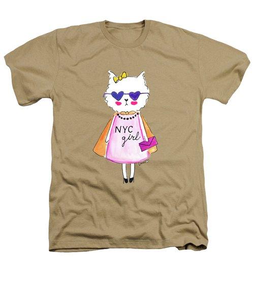 New York City Girl Heathers T-Shirt