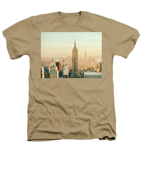 New York City - Skyline Dream Heathers T-Shirt by Vivienne Gucwa