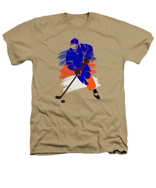 New York Islanders Player Shirt Heathers T-Shirt by Joe Hamilton