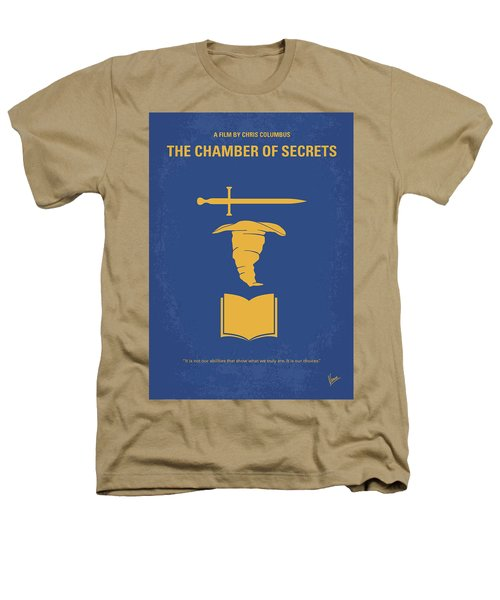 No101-2 My Hp - Chamber Of Secrets Minimal Movie Poster Heathers T-Shirt