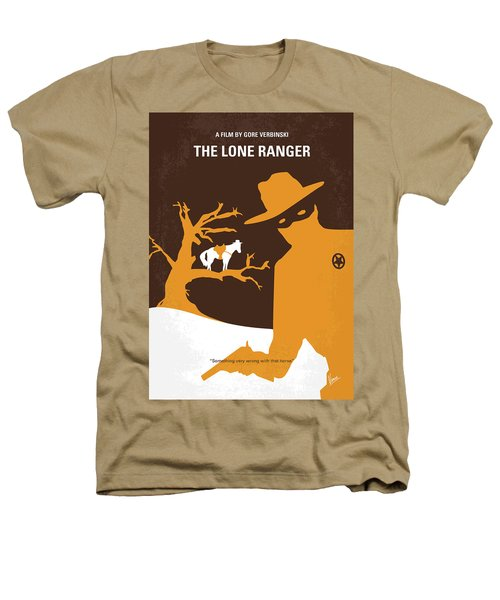 No202 My The Lone Ranger Minimal Movie Poster Heathers T-Shirt by Chungkong Art
