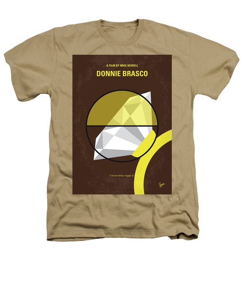 No766 My Donnie Brasco Minimal Movie Poster Heathers T-Shirt by Chungkong Art