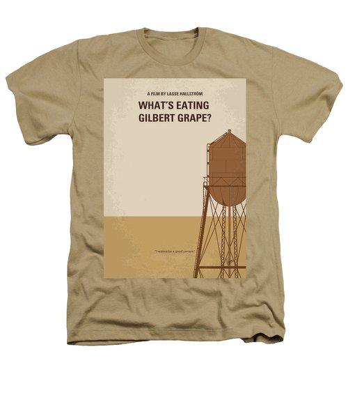 No795 My Whats Eating Gilbert Grape Minimal Movie Poster Heathers T-Shirt by Chungkong Art