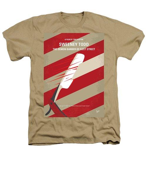 No849 My Sweeney Todd Minimal Movie Poster Heathers T-Shirt