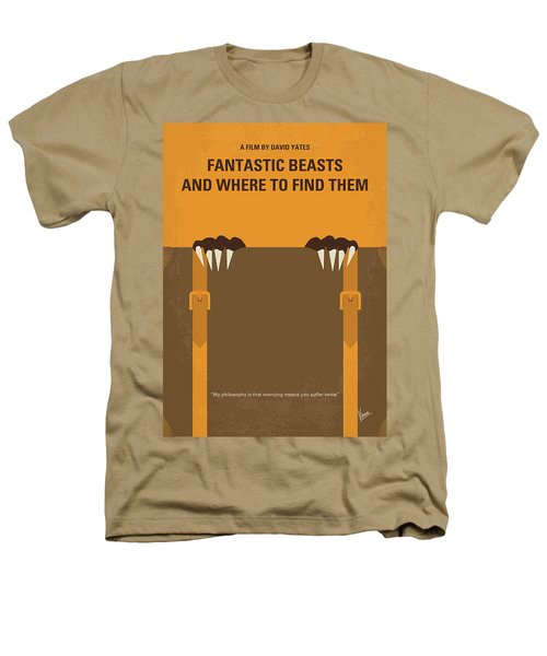 No962 My Fantastic Beasts And Where To Find Them Minimal Movie Poster Heathers T-Shirt