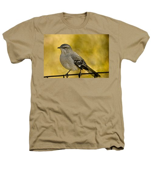 Northern Mockingbird Heathers T-Shirt by Chris Lord