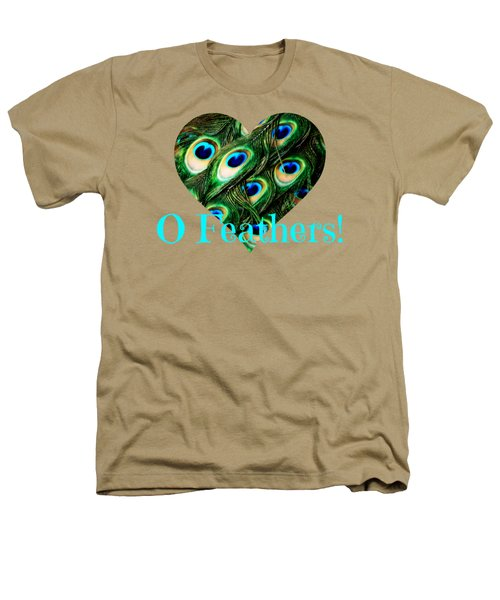 O Feathers Heathers T-Shirt by Anita Faye