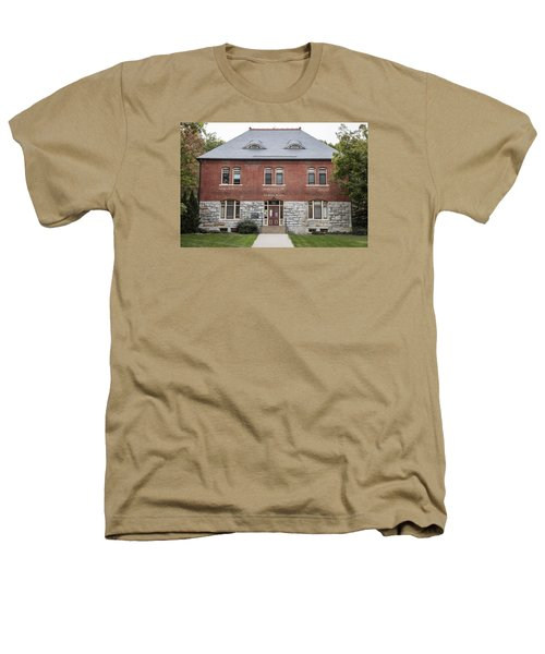 Old Botany Building Penn State  Heathers T-Shirt by John McGraw