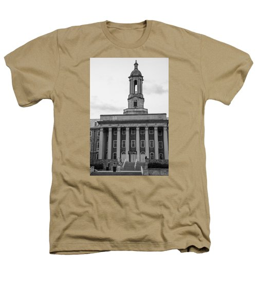 Old Main Penn State Black And White Heathers T-Shirt