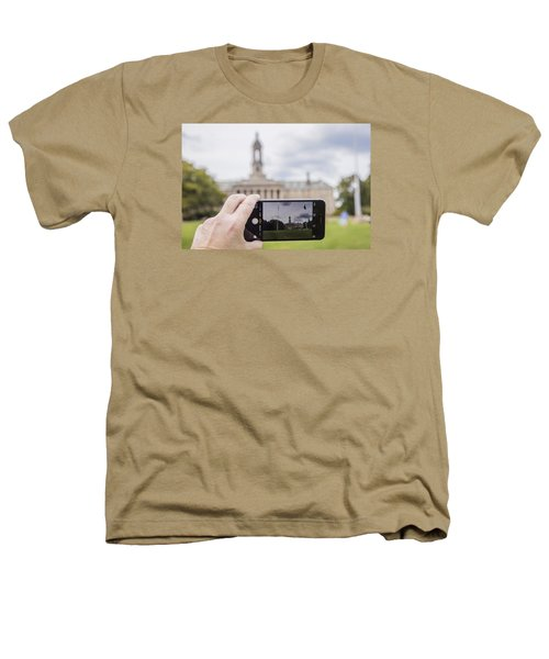 Old Main Through Iphone  Heathers T-Shirt by John McGraw
