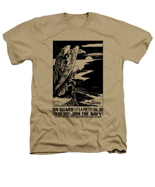 On Guard - Join The Navy Heathers T-Shirt