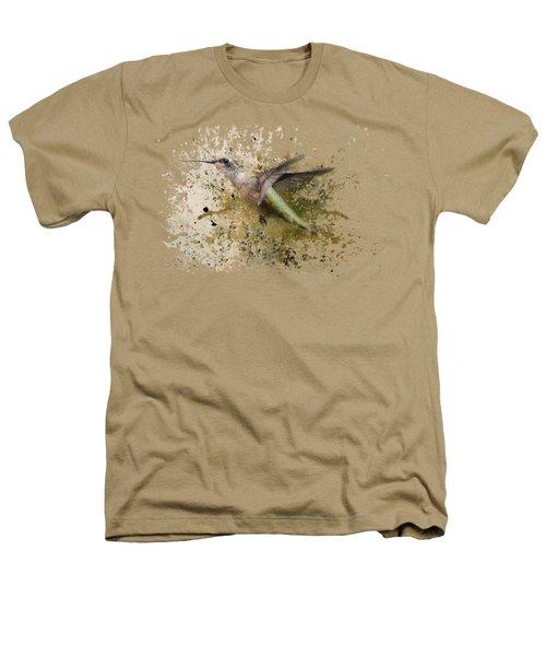 On The Fly Hummingbird Art Heathers T-Shirt