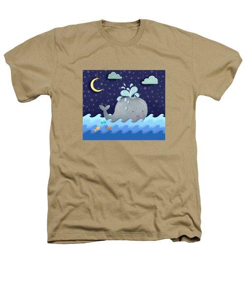 One Wonderful Whale With Fabulous Fishy Friends Heathers T-Shirt