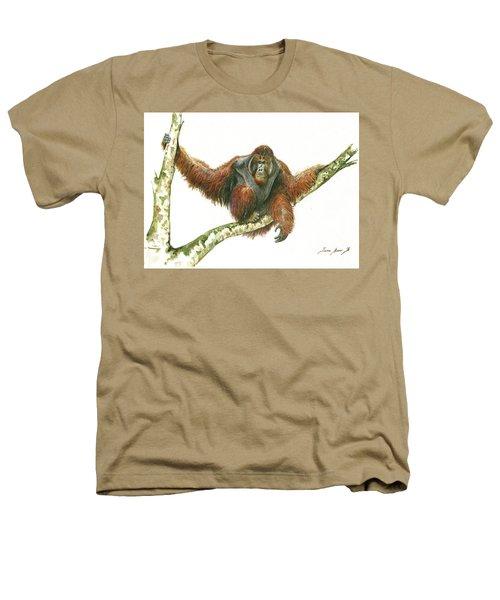 Orangutang Heathers T-Shirt by Juan Bosco