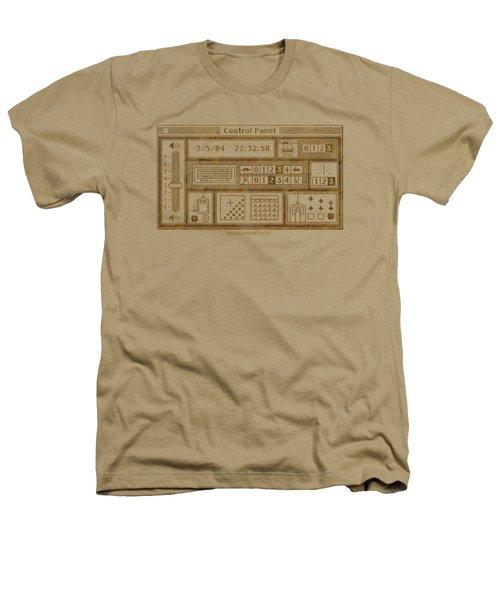 Original Mac Computer Control Panel Circa 1984 Heathers T-Shirt by Design Turnpike