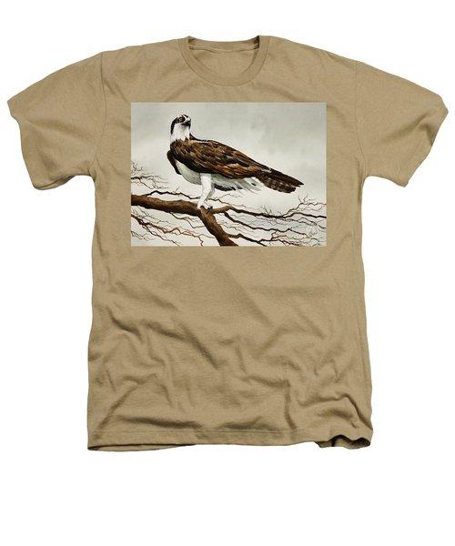 Osprey Sea Hawk Heathers T-Shirt by James Williamson