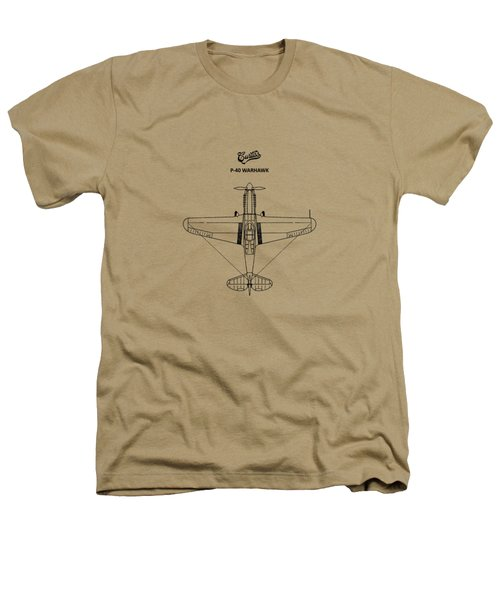 P-40 Warhawk Heathers T-Shirt by Mark Rogan