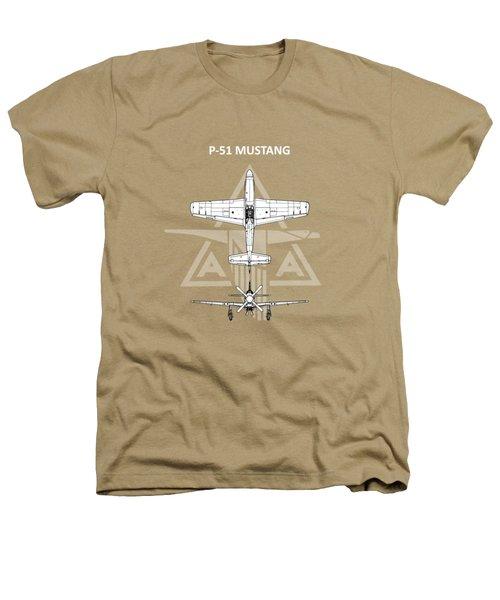 P-51 Mustang Heathers T-Shirt