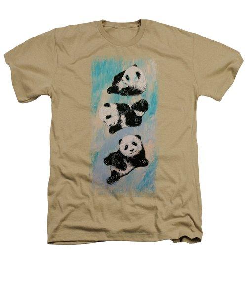 Panda Karate Heathers T-Shirt