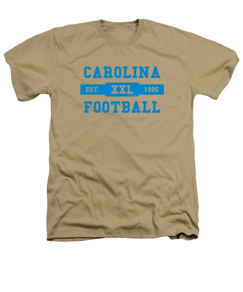 Panthers Retro Shirt Heathers T-Shirt by Joe Hamilton
