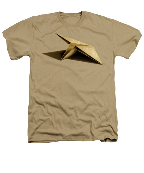 Paper Airplanes Of Wood 7 Heathers T-Shirt by YoPedro