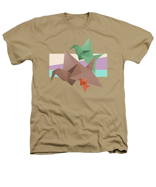 Paper Cranes Heathers T-Shirt by Absentis Designs