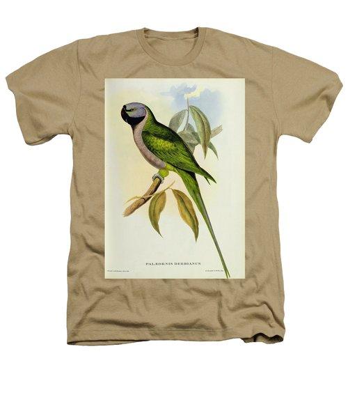 Parakeet Heathers T-Shirt by John Gould