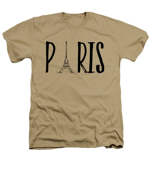Paris Typography Heathers T-Shirt