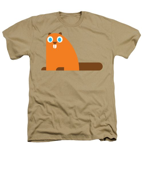 Pbs Kids Beaver Heathers T-Shirt by Pbs Kids