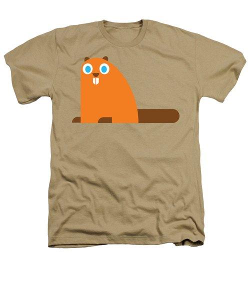 Pbs Kids Beaver Heathers T-Shirt by Pbs Kids