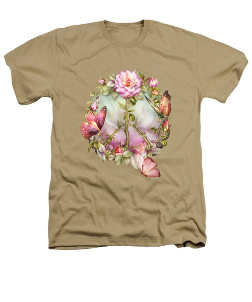 Peace Rose Heathers T-Shirt
