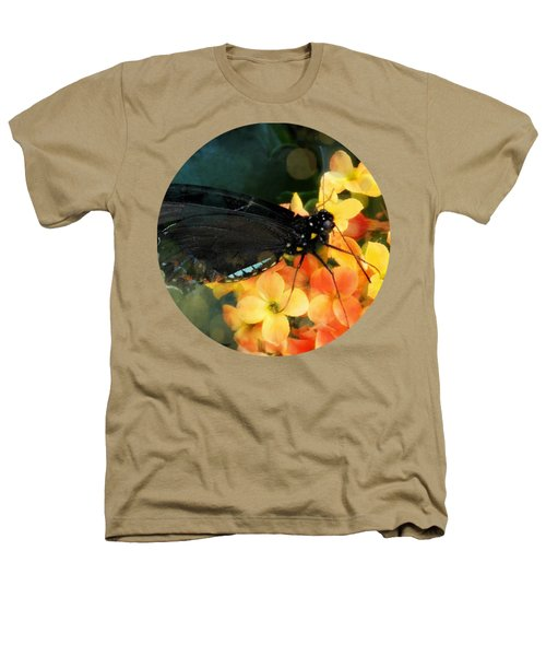 Peachy Heathers T-Shirt by Anita Faye