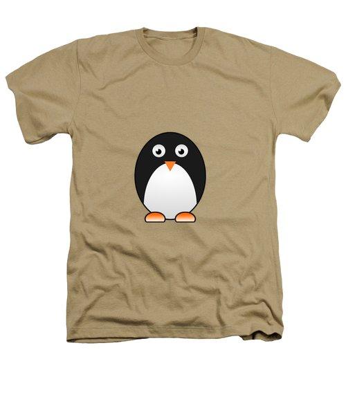 Penguin - Birds - Art For Kids Heathers T-Shirt by Anastasiya Malakhova