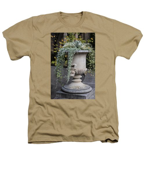Penn State Flower Pot  Heathers T-Shirt by John McGraw