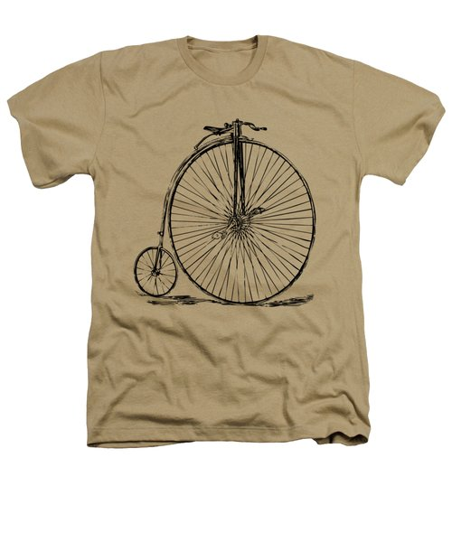 Penny-farthing 1867 High Wheeler Bicycle Vintage Heathers T-Shirt