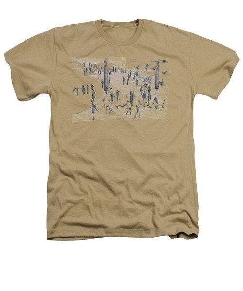 People And Birds, 19 December, 2015 Heathers T-Shirt by Tatiana Chernyavskaya