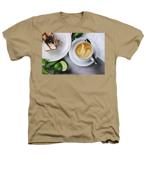Perfect Breakfast Heathers T-Shirt by Happy Home Artistry