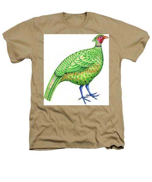 Pheasant Heathers T-Shirt by Jane Tattersfield