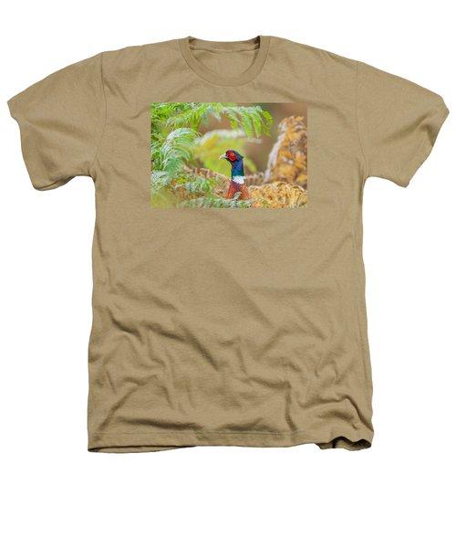 Pheasant Portrait Heathers T-Shirt