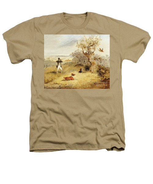 Pheasant Shooting Heathers T-Shirt by Henry Thomas Alken