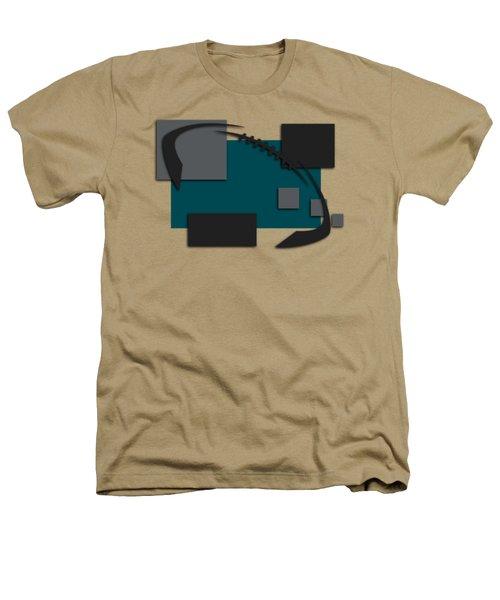 Philadelphia Eagles Abstract Shirt Heathers T-Shirt by Joe Hamilton