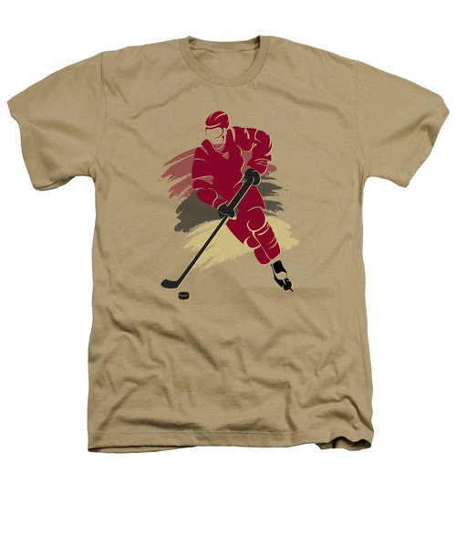 Phoenix Coyotes Player Shirt Heathers T-Shirt by Joe Hamilton