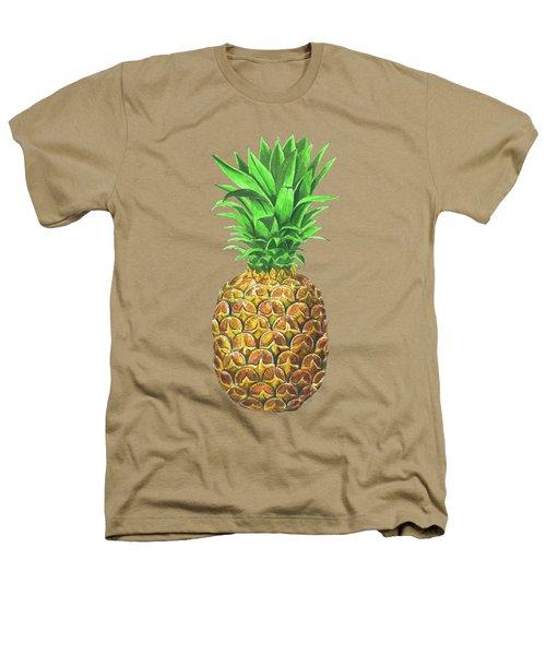 Pineapple, Tropical Fruit Heathers T-Shirt by Katerina Kirilova