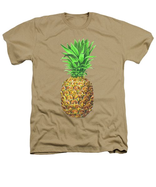 Pineapple, Tropical Fruit Heathers T-Shirt