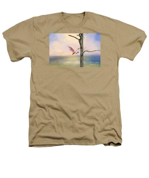 Pink Wonder Heathers T-Shirt by Bonnie Barry