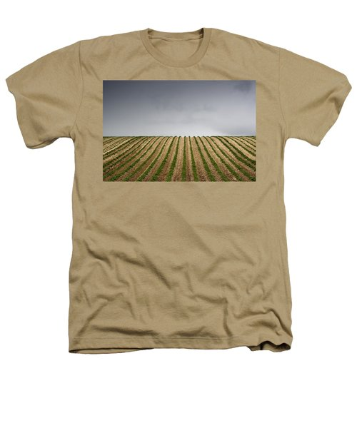 Potato Field Heathers T-Shirt by John Short