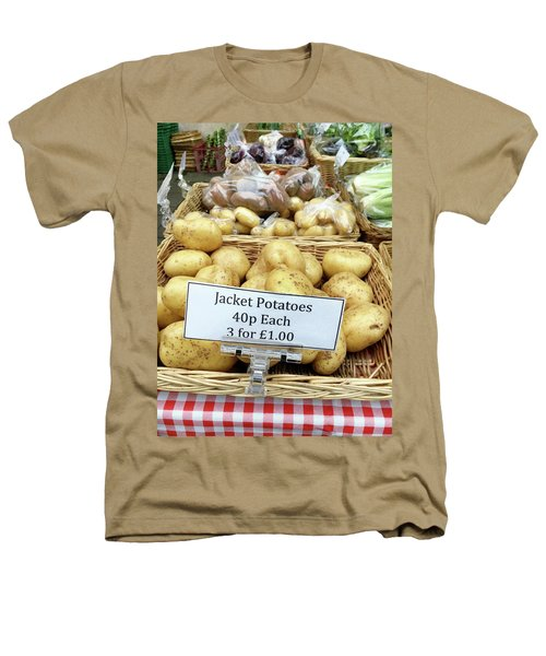 Potatoes At The Market  Heathers T-Shirt by Tom Gowanlock